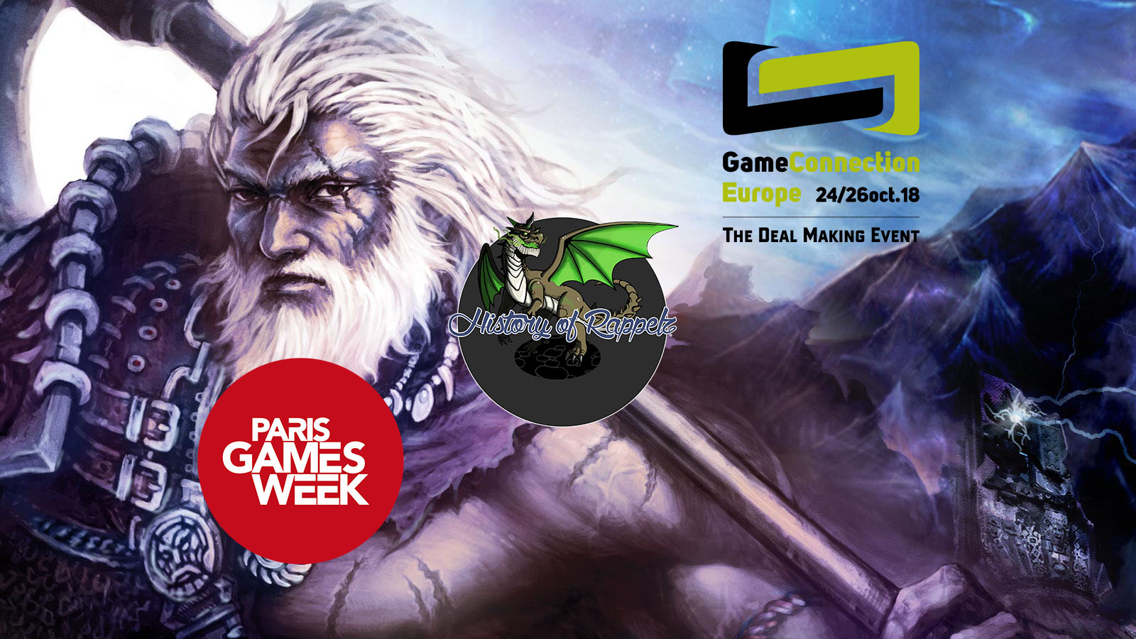 Paris Games Week And Game Connection Europe 2018 Introduction