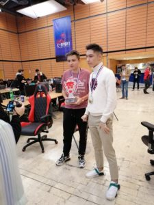 Kysen and Clément - pro finale of Fortnite